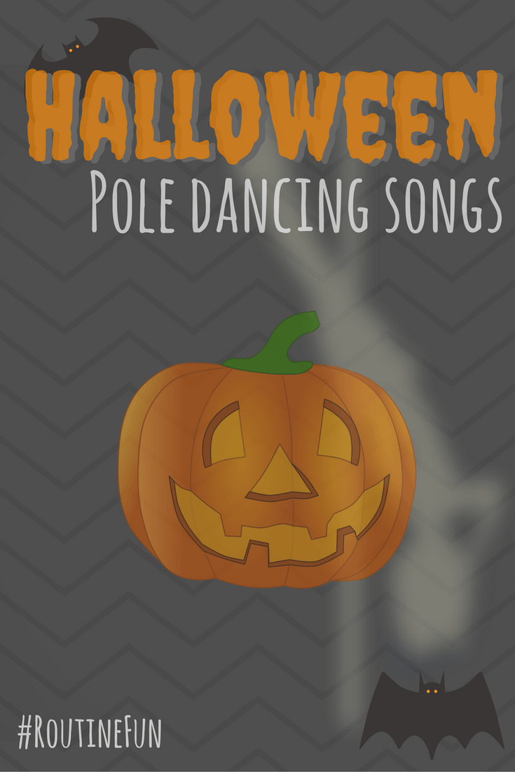 Halloween pole dancing songs playlist, pole dancing music for routines and fun!
