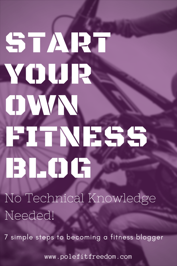 Start a fitness blog, blogging motivation, blogging ideas, make money with a fitness blog