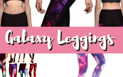 14 Stunning Pairs of Galaxy Leggings for Workout & Everyday Wear