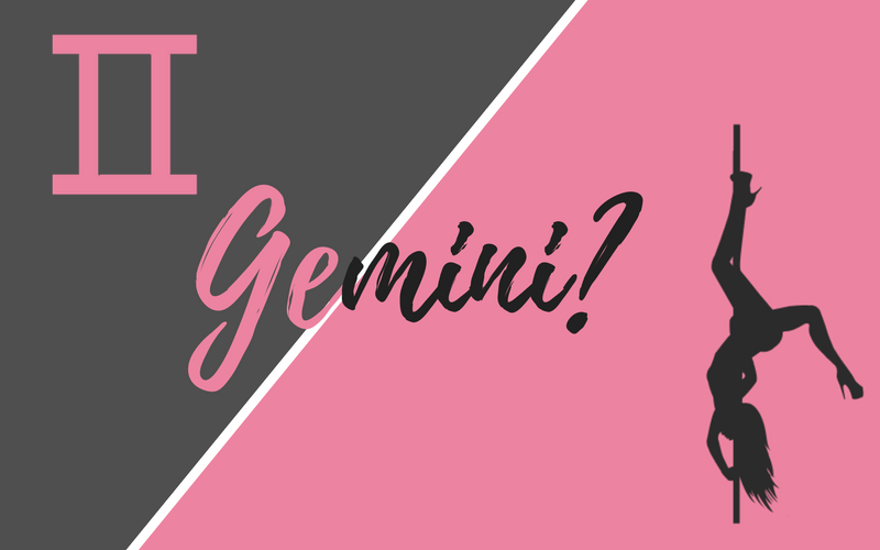 Gemini is commonly known as a star sign but is also a popular pole dancing trick