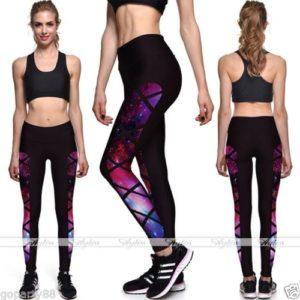 yoga galaxy leggings