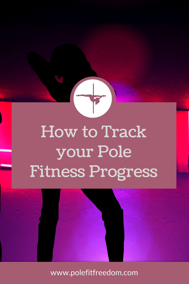 how to track you pole fitness progress
