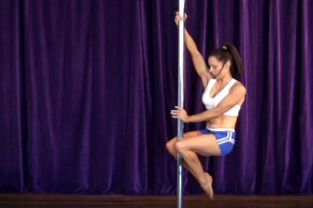 Fireman spin - pole moves for beginners