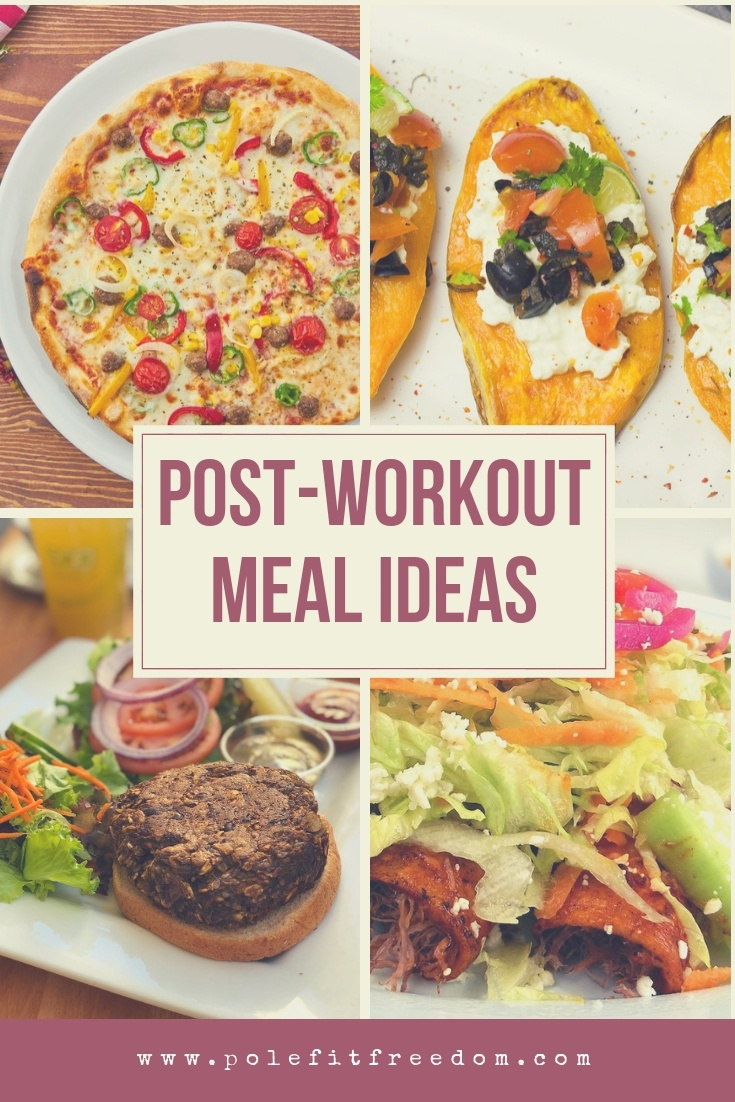Post workout meal ideas for pole dancers