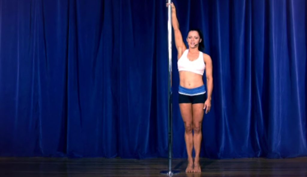 Walking around the pole - pole moves for beginners