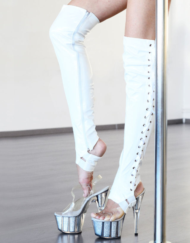 Boot Sleeves in White